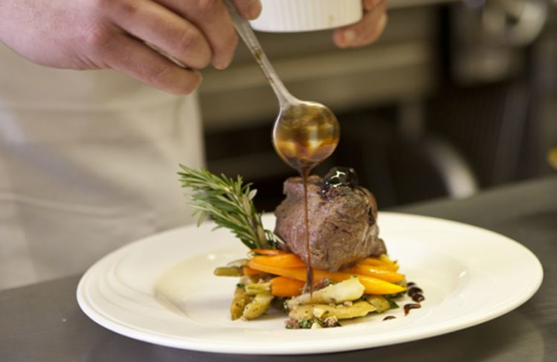 Delicious meals at Wort Hotel.