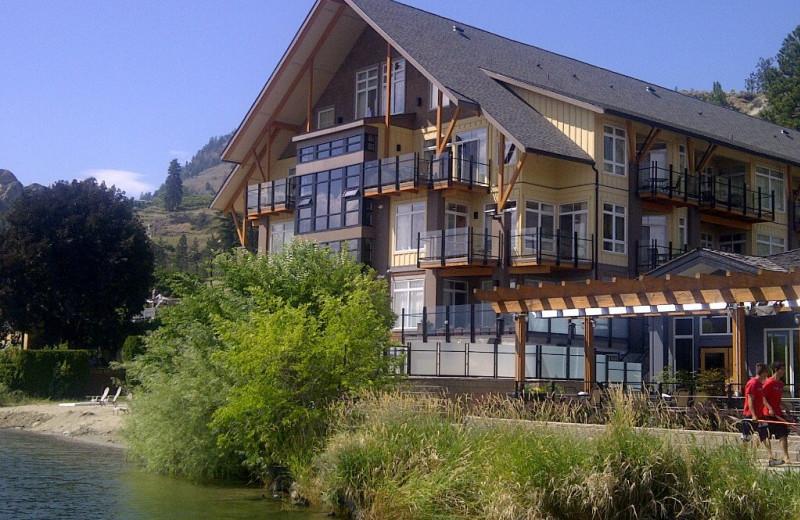 Exterior view of Summerland Waterfront Resort.