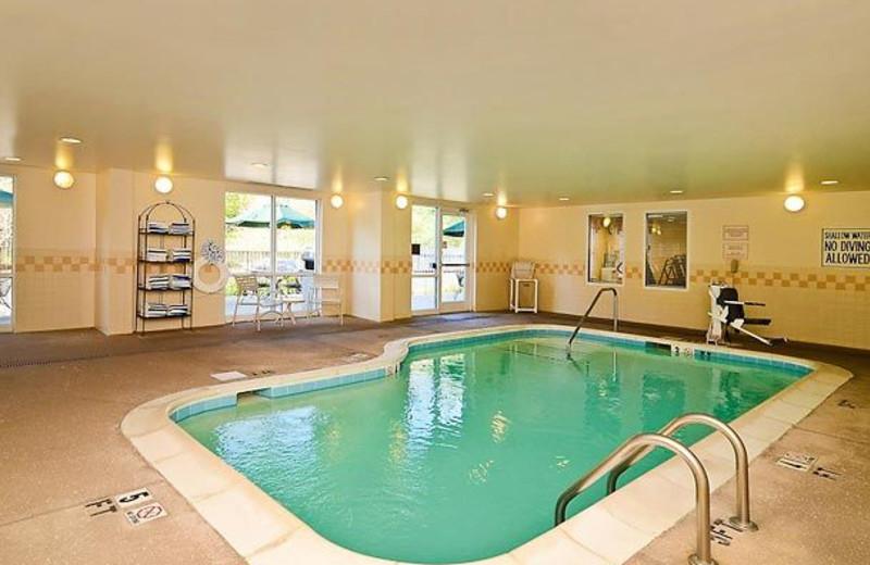 Indoor Pool at the Fairfield Inn & Suites