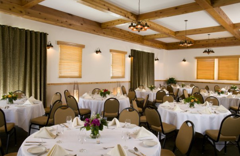 Conference room at Vail Racquet Club.