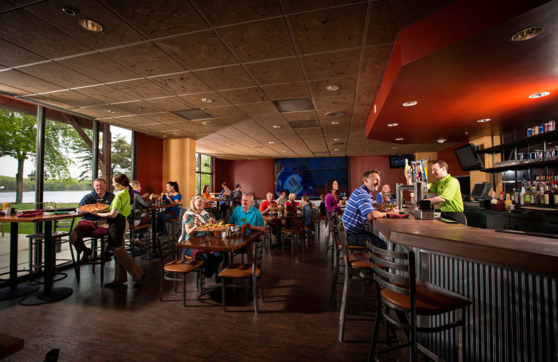 Signature's Bar and Grill at Rocky Gap Casino Resort.