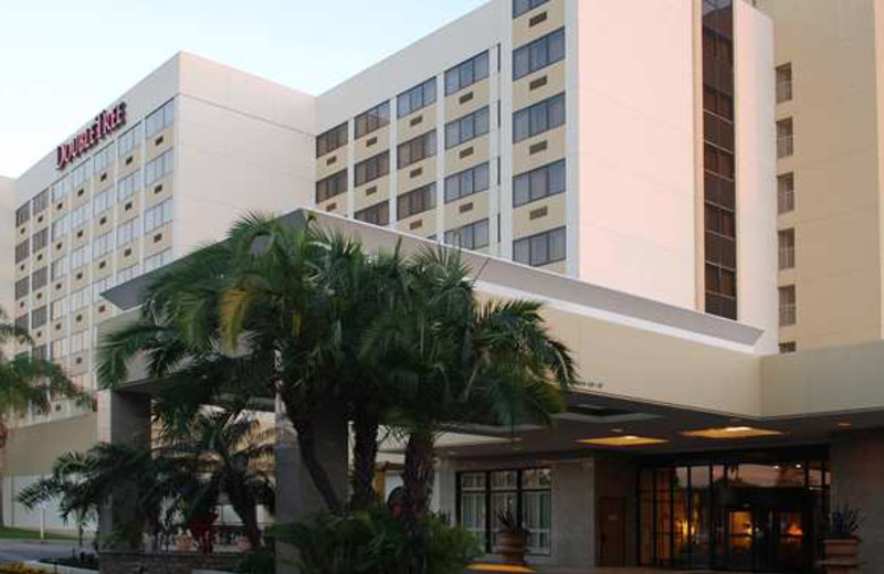 Exterior view of DoubleTree by Hilton Hotel Los Angeles - Norwalk.