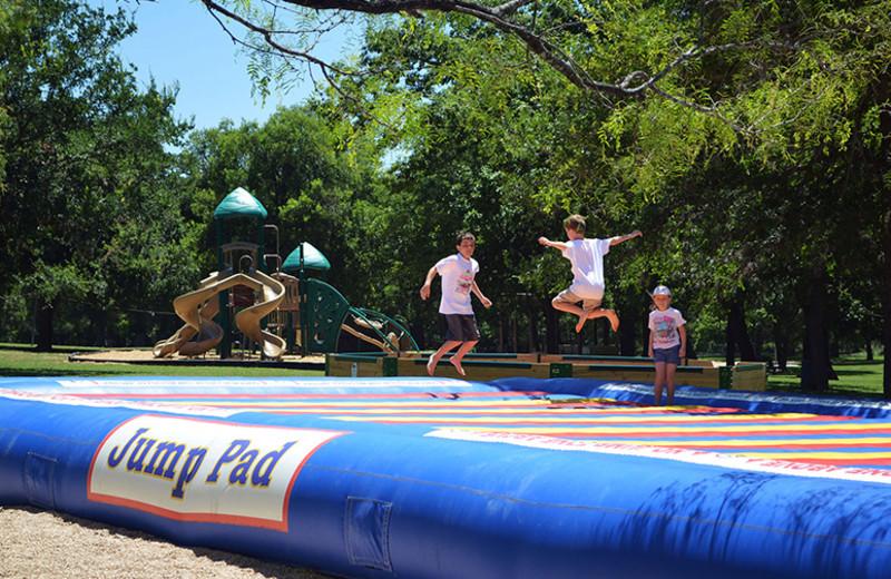 Kids playing at Yogi Bear's Jellystone Park Guadalupe.