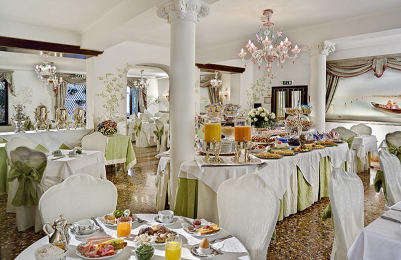 Dining at Hotel Giorgione.