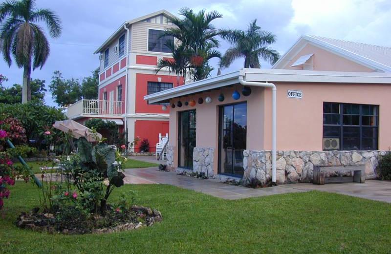 Inn office at Orange Hill Beach Inn.