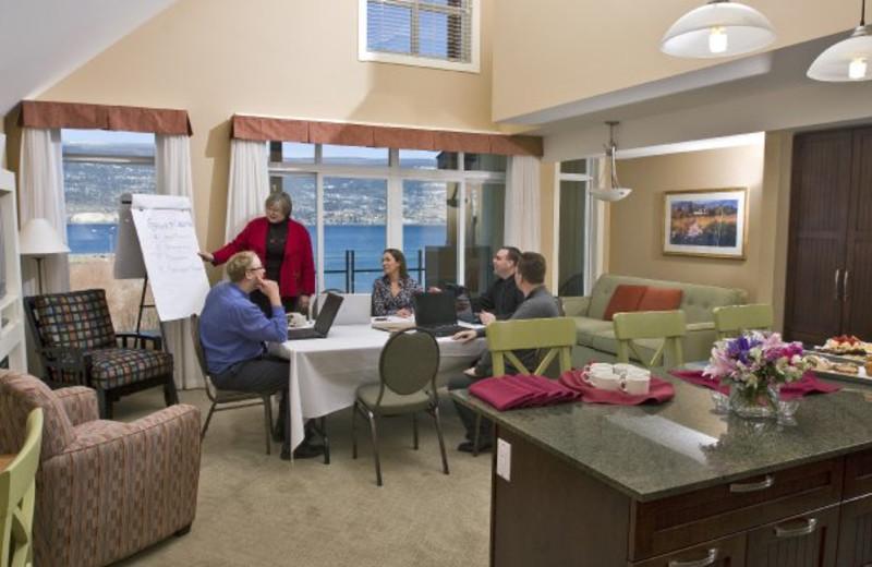 Meeting at Summerland Waterfront Resort.