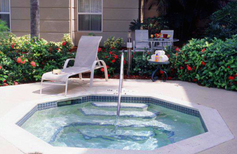 Outdoor Hot Tub at Homewood Suites