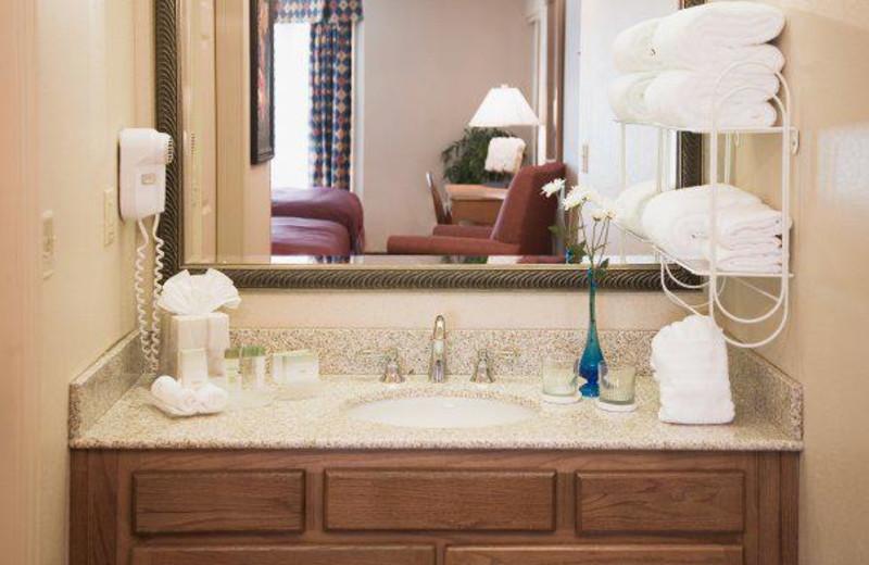 Suite Bathroom at Homewood Suites
