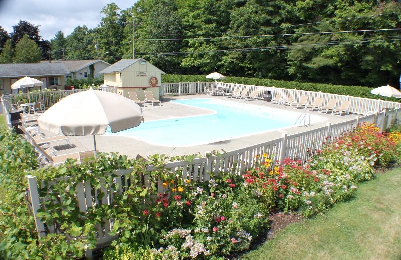 Pool area at Capri Village Resort.
