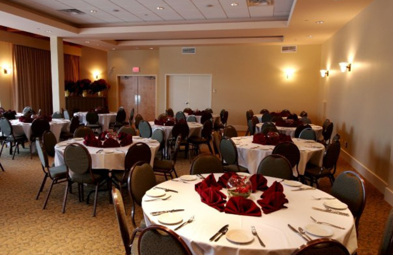 Conference room at Summerland Waterfront Resort.