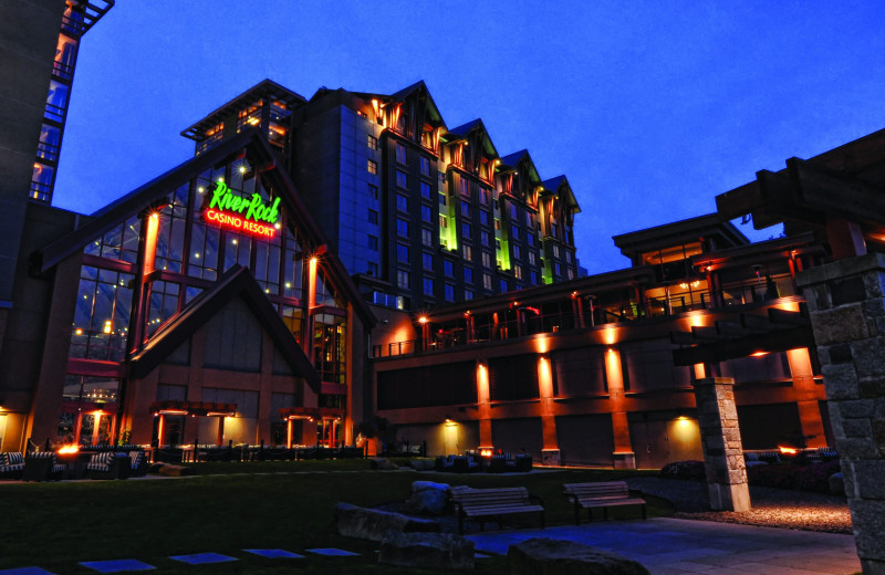 Exterior view of River Rock Casino Resort.