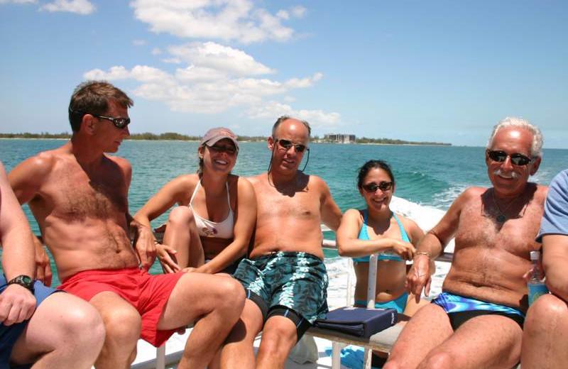 Boating at Orange Hill Beach Inn.