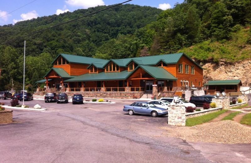 Exterior view at Smoke Hole Caverns & Log Cabin Resort.