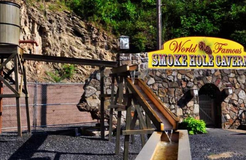 Gemstone mining at Smoke Hole Caverns & Log Cabin Resort.