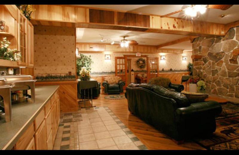 Meeting room at Smoke Hole Caverns & Log Cabin Resort.
