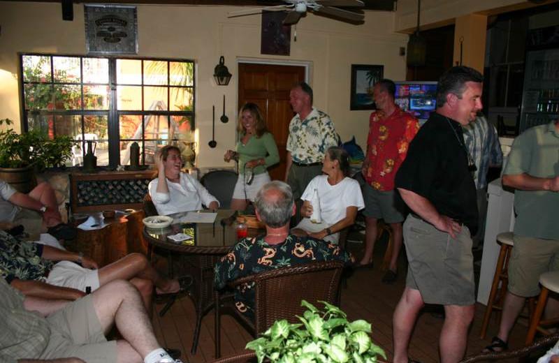 Meeting room at Orange Hill Beach Inn.
