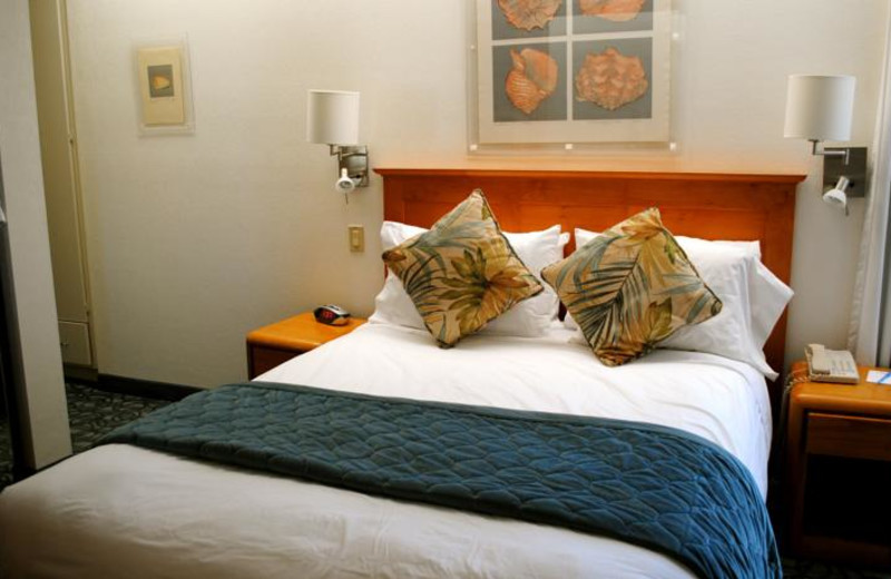 Guest room at Laguna Surf.