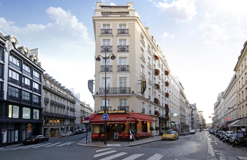 Exterior view of Hotel Opéra Richepanse.