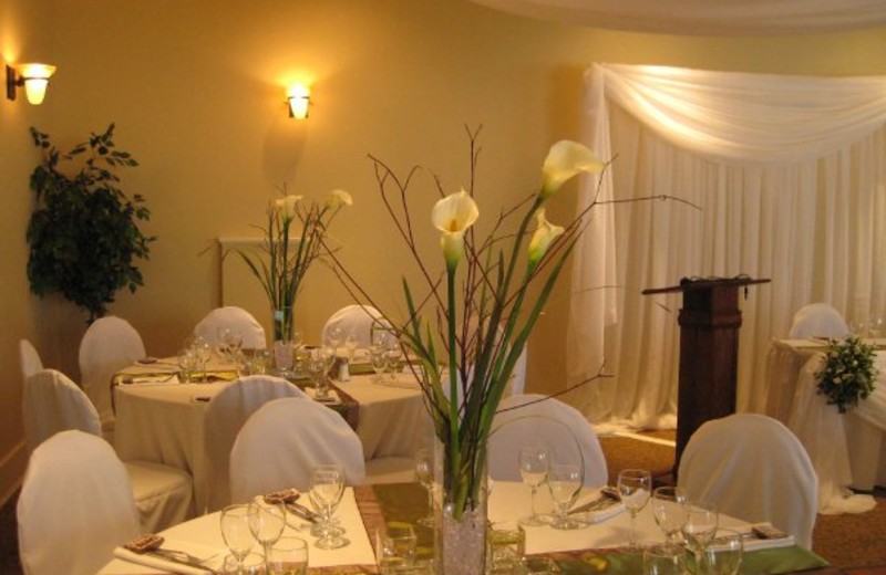 Event dining at Summerland Waterfront Resort.