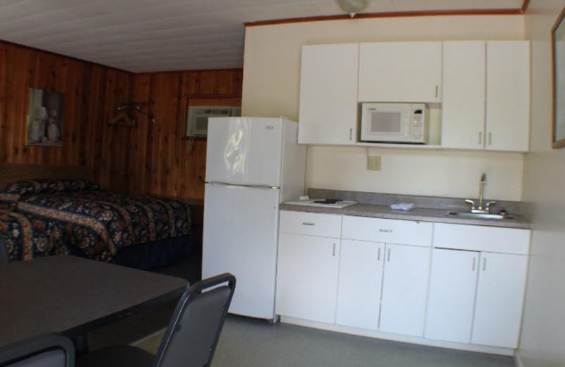 Guest kitchen at Capri Village Resort.