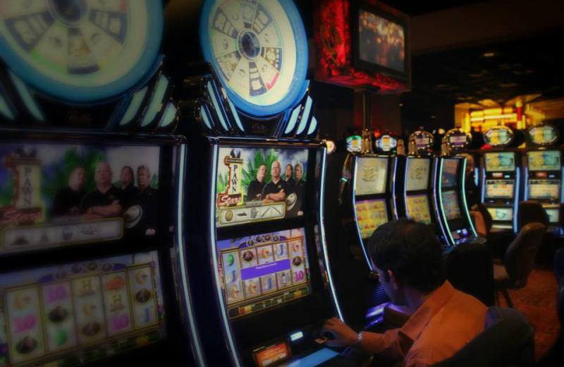 Slot machines at Rocky Gap Casino Resort.