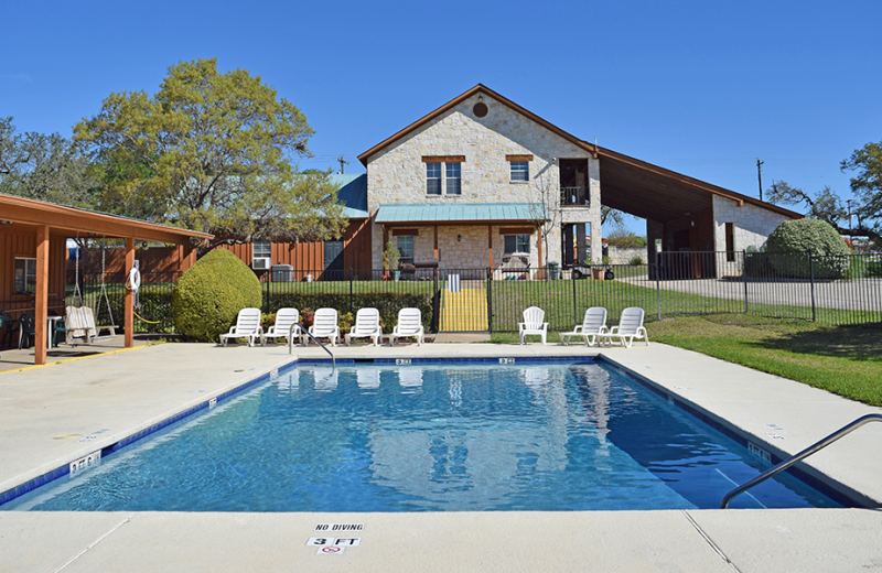 Outdoor pool at Yogi Bear's Jellystone Park Guadalupe.