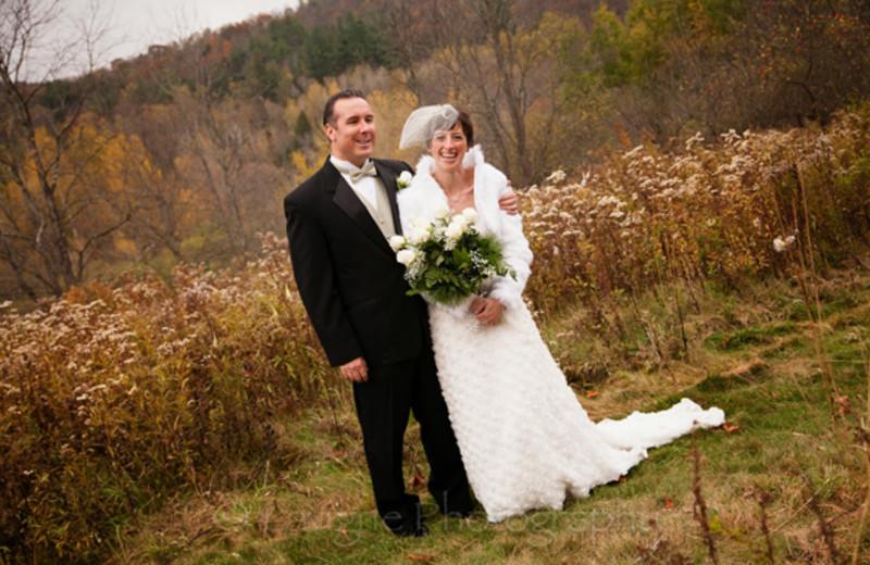 Wedding at Nutmeg Country Inn.