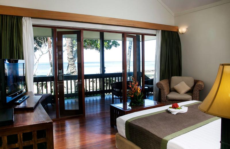 Guest room at Naviti Resort.