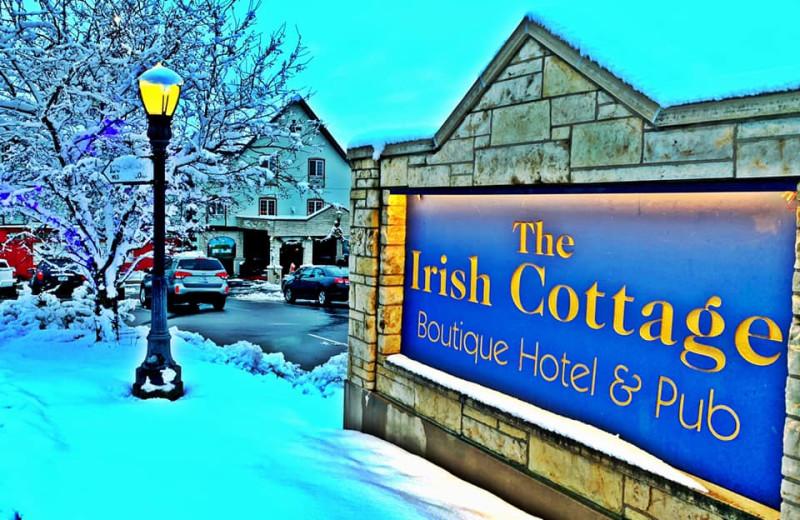 Winter at The Irish Cottage Inn & Suites.