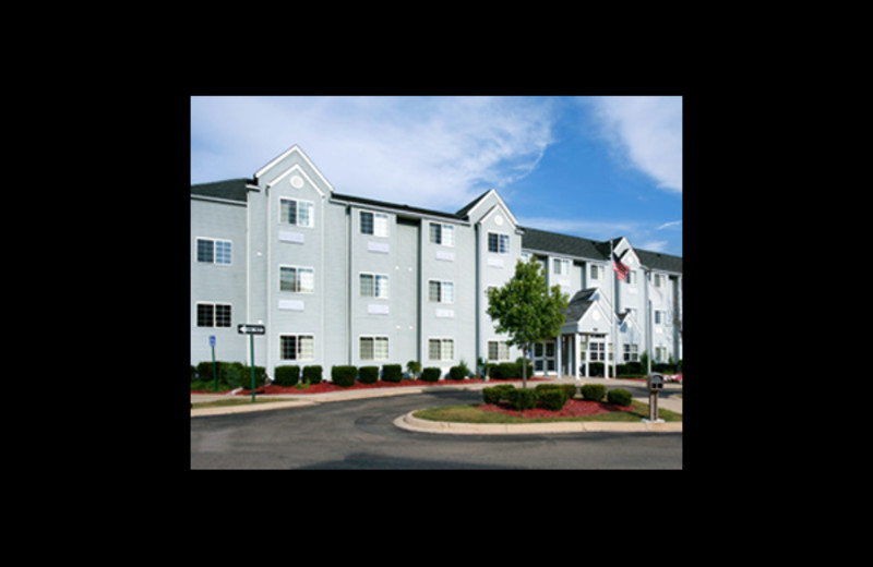 Exterior view of Microtel Inn & Suites Ann Arbor.