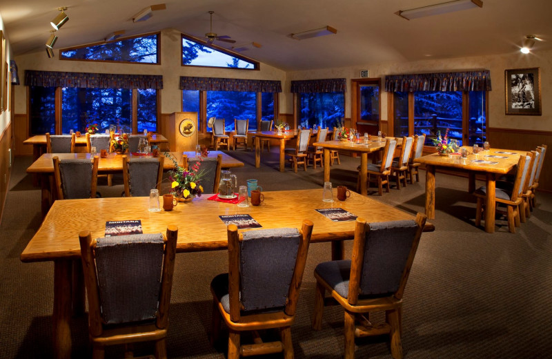 Meetings at Averill's Flathead Lake Lodge.