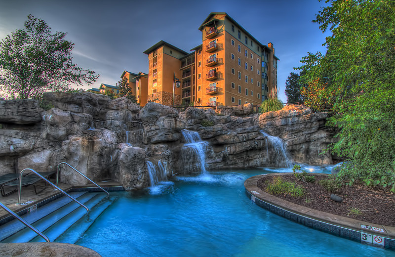 Exterior view of Riverstone Resort & Spa.