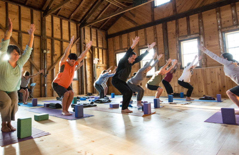 Yoga at Common Ground Center.