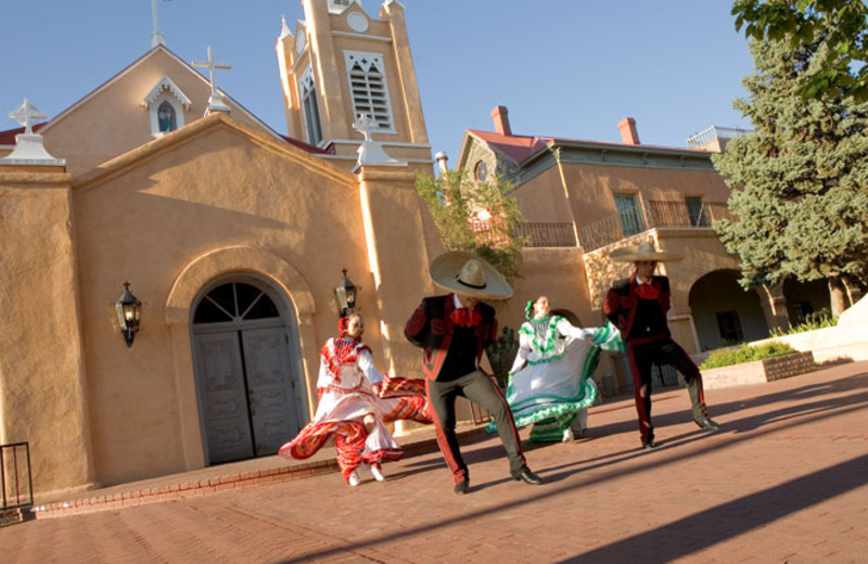 Old Town activities at  Hotel Albuquerque.