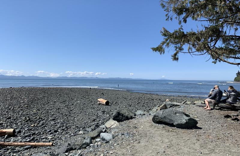 Beach at Ocean Wilderness Inn