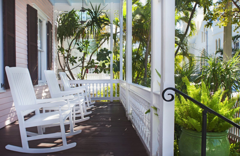 Porch at Key West Bed & Breakfast.