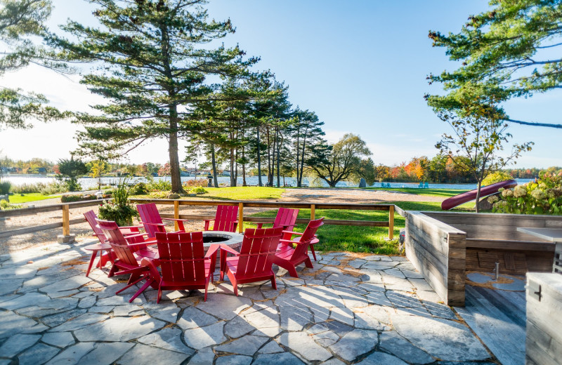 Patio at Rawley Resort.