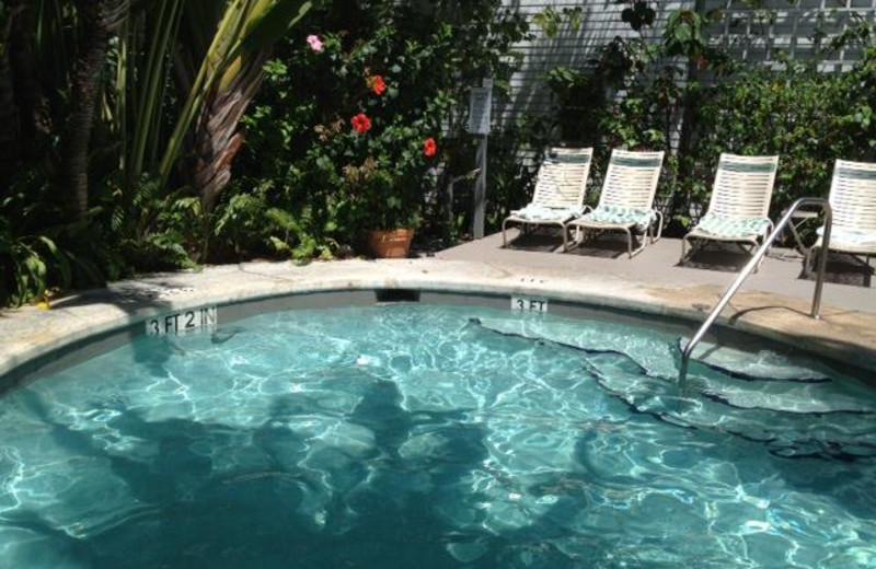 Outdoor pool at The Banyan Resort.