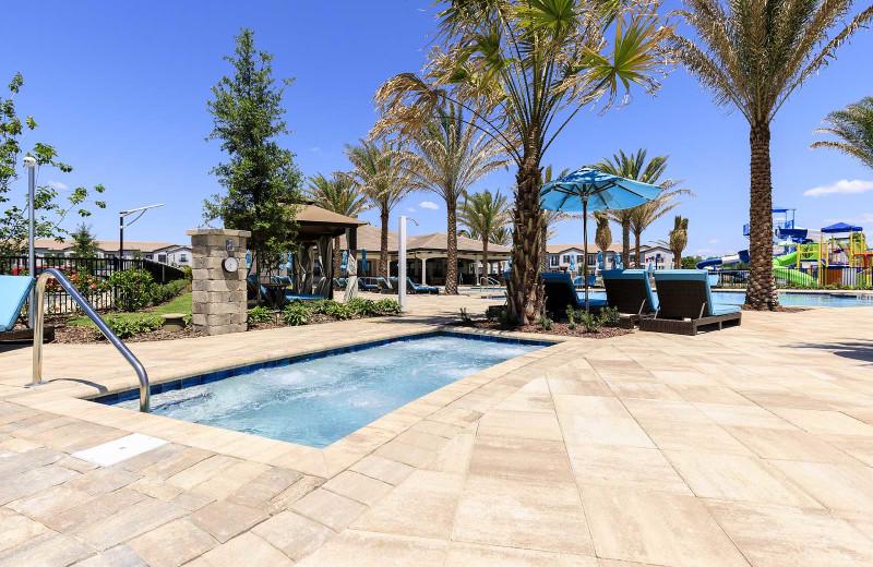 Outdoor pool at Balmoral Resort.