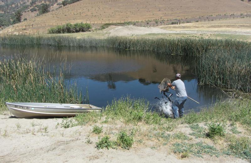 Lake at Rankin Ranch.