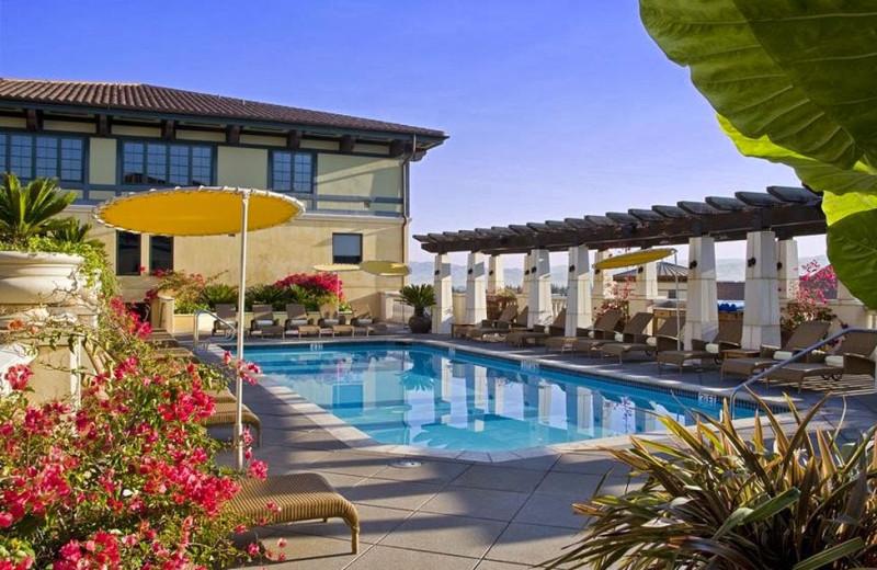 Outdoor pool at Hotel Valencia Santana Row.