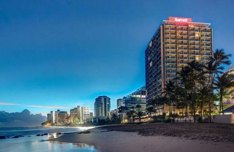 Exterior view of Marriott San Juan Resort and Stellaris Casino.