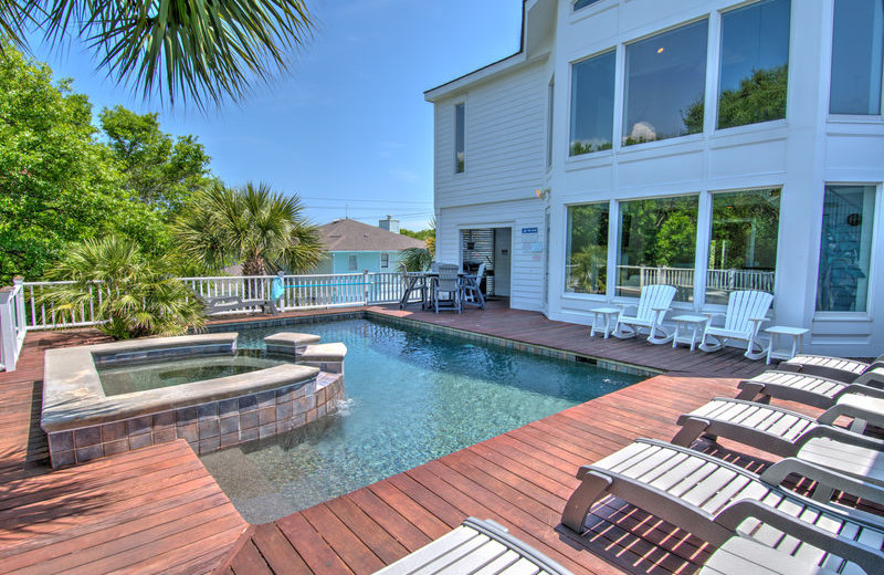 Rental pool at Exclusive Properties - Isle of Palms.