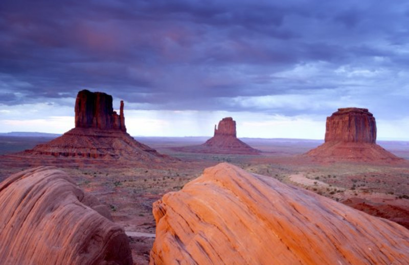 Monument Valley Tribal Park  is a short drive from Bluff, Utah