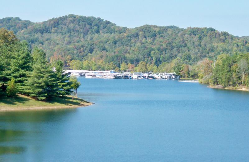 Lake at Cedar Knob Resort.
