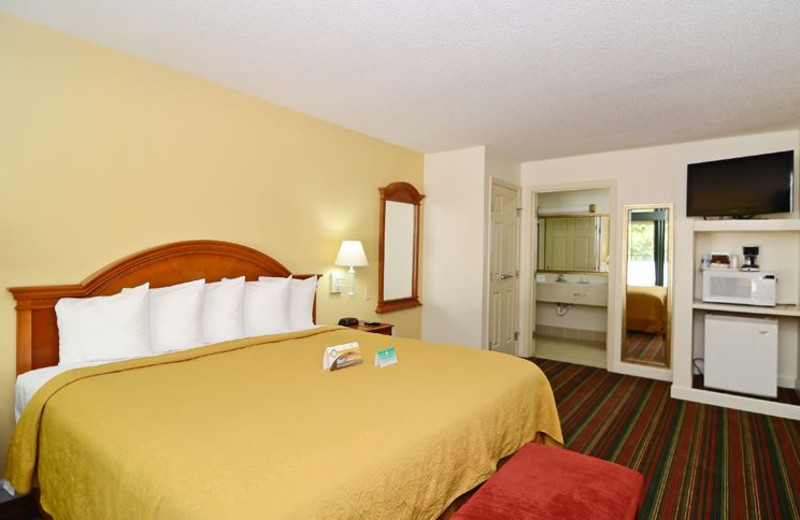 Guest Room at Quality Inn and Suites Biltmore East