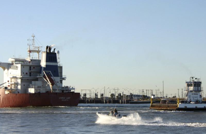 Ship Landing at Coral Cay Condominiums
