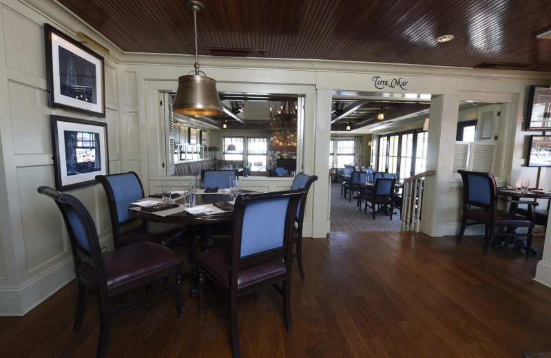 Dining at Saybrook Point Inn, Marina & Spa.