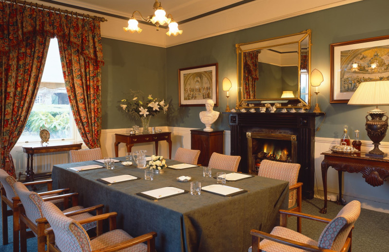 Meeting room at Longueville House Hotel.