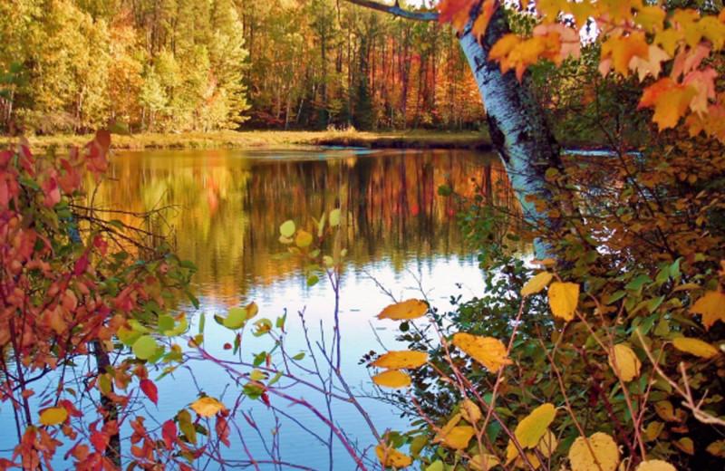 Fall at The Lodge at Giants Ridge.